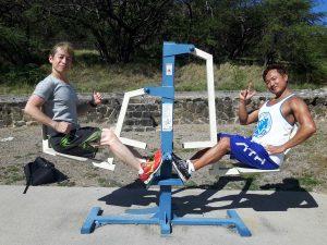 野外トレーニング