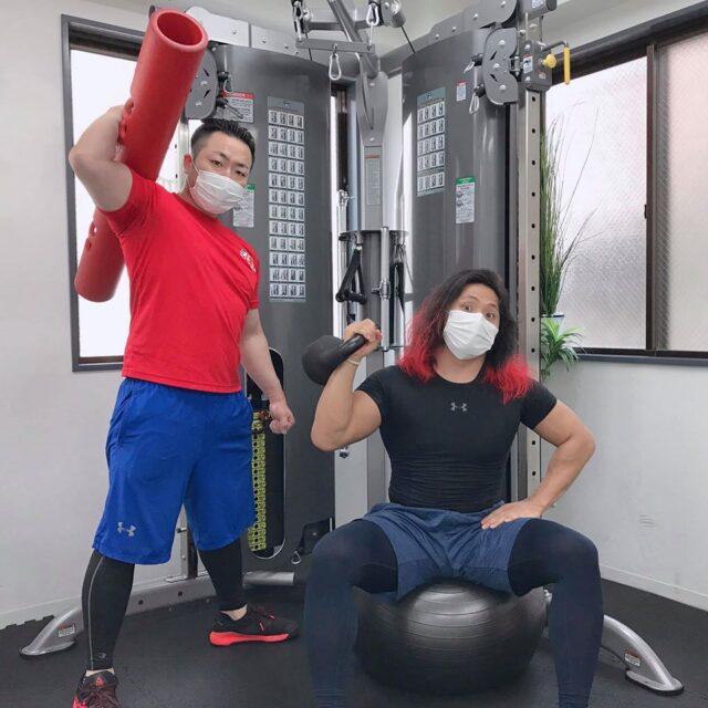 【メディア情報】高橋ヒロム選手のSNSにSAWAKI GYMが登場!01
