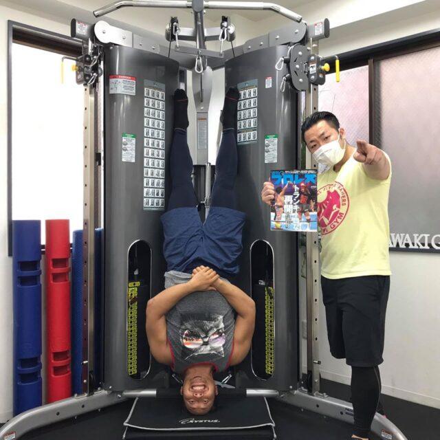 【メディア情報】高橋ヒロム選手のSNSにSAWAKI GYMが登場!03