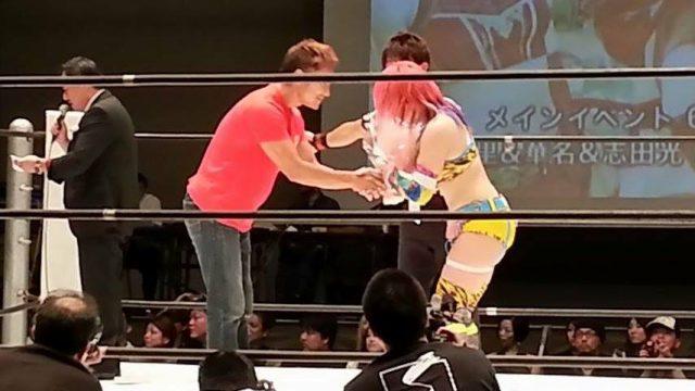 華名(ASUKA)選手、「カナプロマニア・パルス」で日本最終試合!