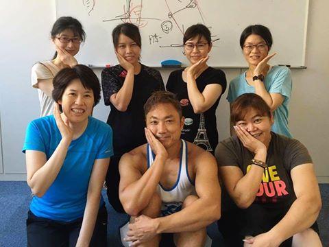 【セミナー終了報告】パーソナルトレーナー澤木一貴によるパフォーマンスアップする自体重グループエクササイズ教室