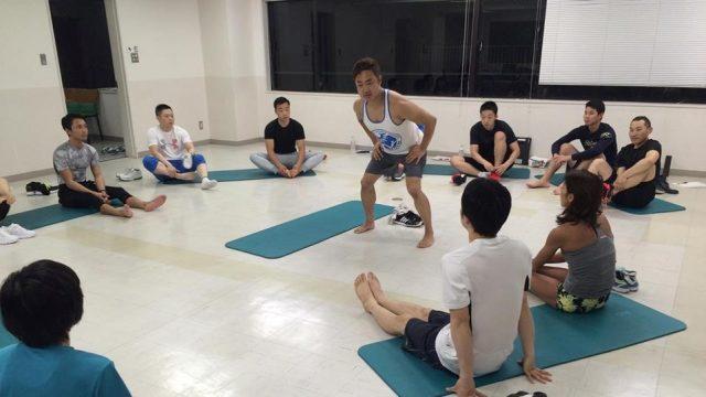 【ワークショップ終了報告】 SAWAKI GYM式パフォーマンストレーニング
