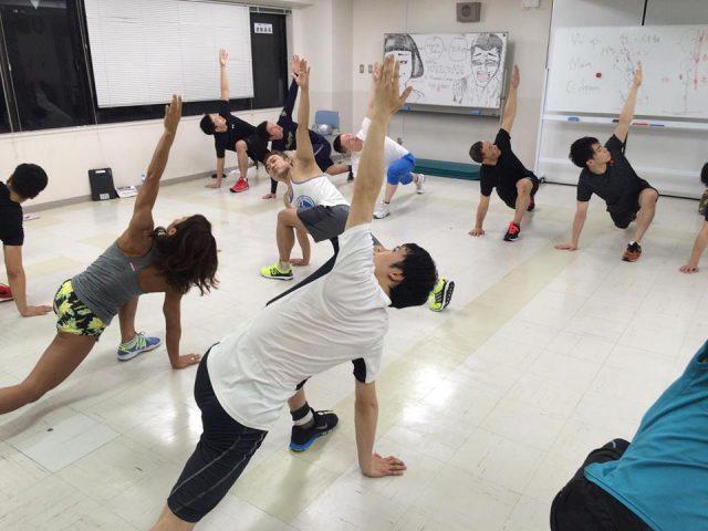 【ワークショップ情報】11月18日(土)自体重を使ったファンクショナルレジスタンストレーニング