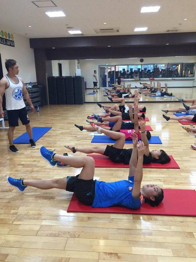 【講演報告】 ジュニアアスリート向け 水泳選手に必要な体幹トレーニング