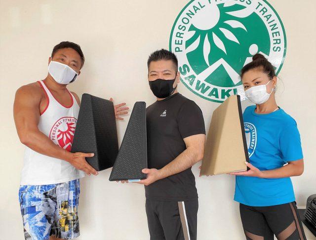 【レポート更新】筋トレやストレッチで使えるフレックスクッション(沖縄)