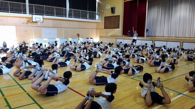 【講演会報告】 10月10日㈫ 元気アップみのっこ ~体幹を鍛えて姿勢をよくしよう~
