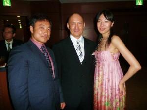 水戸川代表、ダイエットコーチのEICOさんと