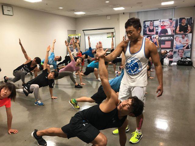 【NESTAサマーセッション2018報告】ファンクショナルトレーニング3講座