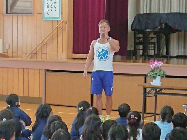 【講演会報告】加須市鴻茎小学校『子どもの体幹トレーニング』