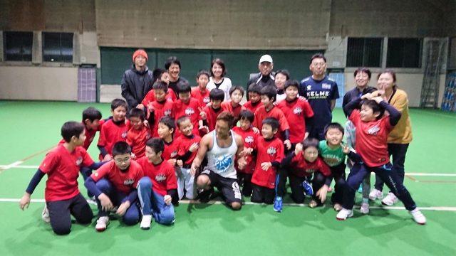 【イベント報告】少年野球 『北見ビクトリー』トレーニング指導