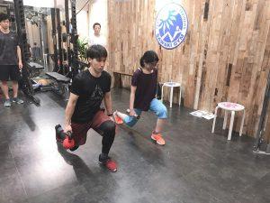 2019年5月14日(火)基礎から学ぶウェイトトレーニング08