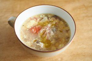 美味しい!簡単!缶詰レシピ♪~良質なタンパク質と脂質が摂れる~スープ