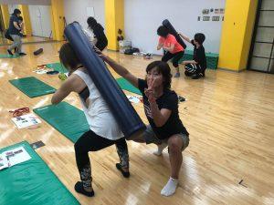 6月22日(土)ファンクショナルトレーニングベーシックコース~小山~(第19期)02