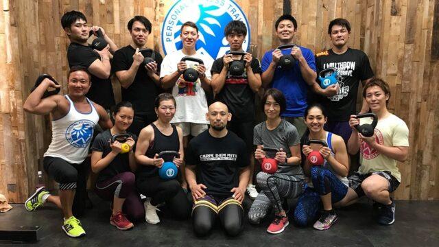 8月31日(土)動きのパフォーマンスを高めるケトルベルトレーニング