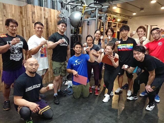 8月31日(土)動きのパフォーマンスを高めるケトルベルトレーニングプロテイン