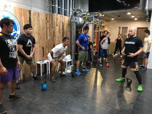 8月31日(土)動きのパフォーマンスを高めるケトルベルトレーニング01