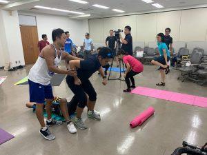 【イベント報告】 ロードレースに必要な動きを劇的に向上させるトレーニング講座06