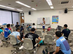 【イベント報告】 ロードレースに必要な動きを劇的に向上させるトレーニング講座01