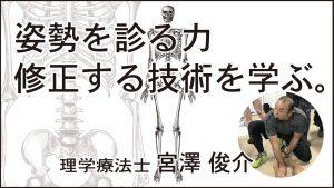 1月12日(日)姿勢を診る力・修正する技術を学ぶ @ 駒沢ウェルネスセンター2F