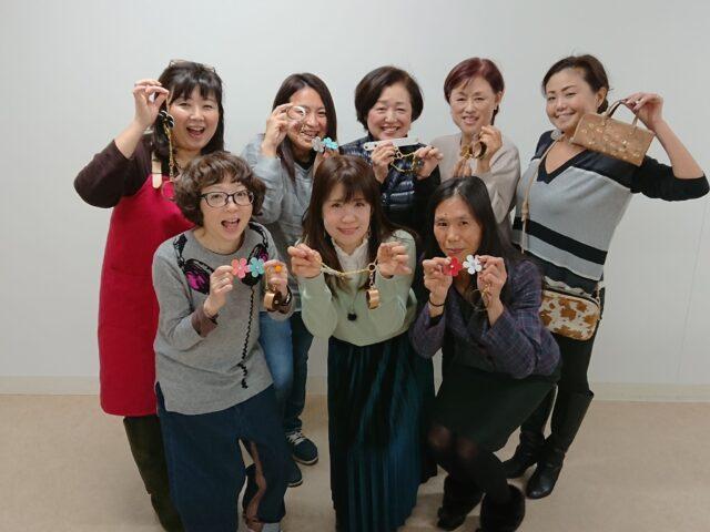 【レポート更新】2019/12/08 女子力アップワークショップ『ハンドメイドでチャームをつくる』