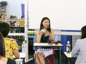 大鳥居舞さんから直接話が聞ける貴重な機会でした