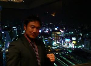 新宿の夜景がきれいでした