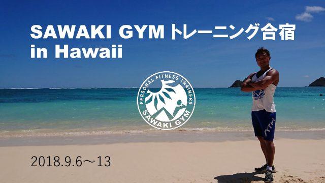 SAWAKI GYM 海外トレーニング合宿 in Hawaiiの模様