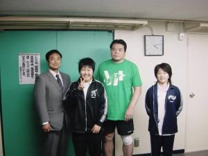 三沢選手を訪ねて~日本武道館~2006年3月